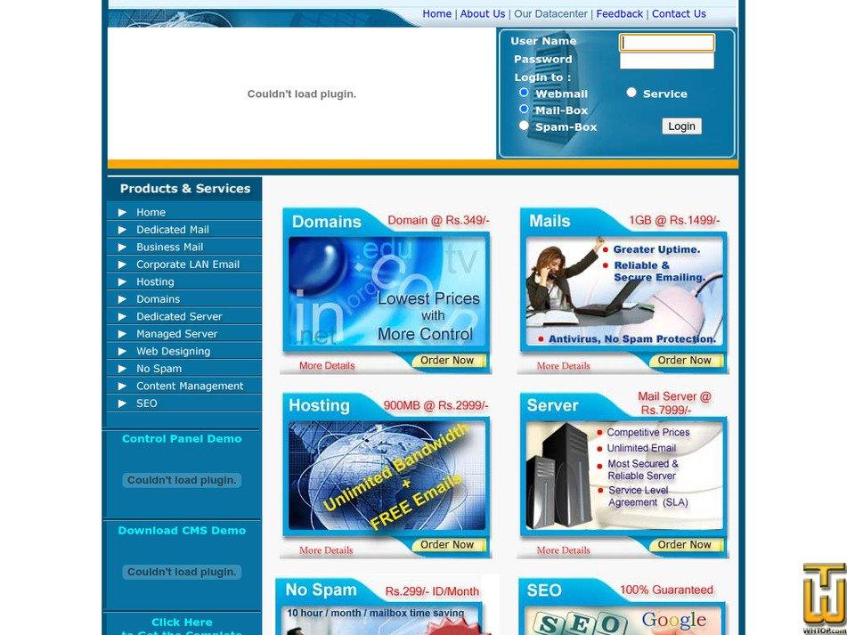 netland.in Screenshot