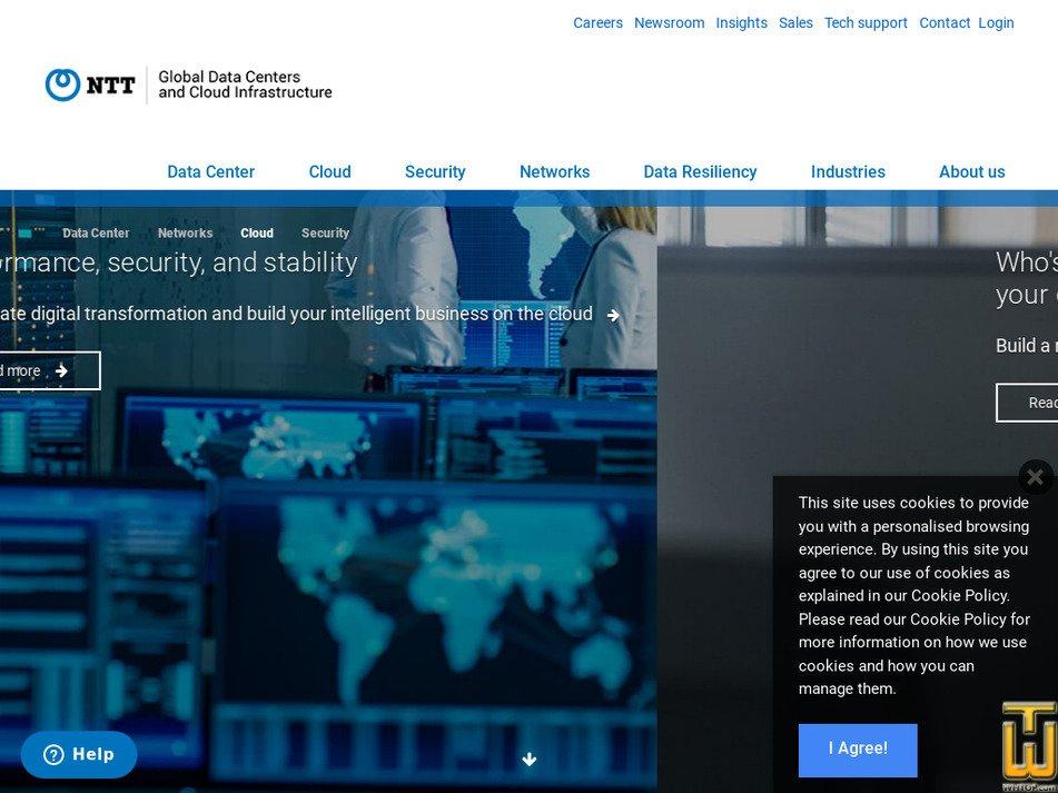netmagicsolutions.com Screenshot
