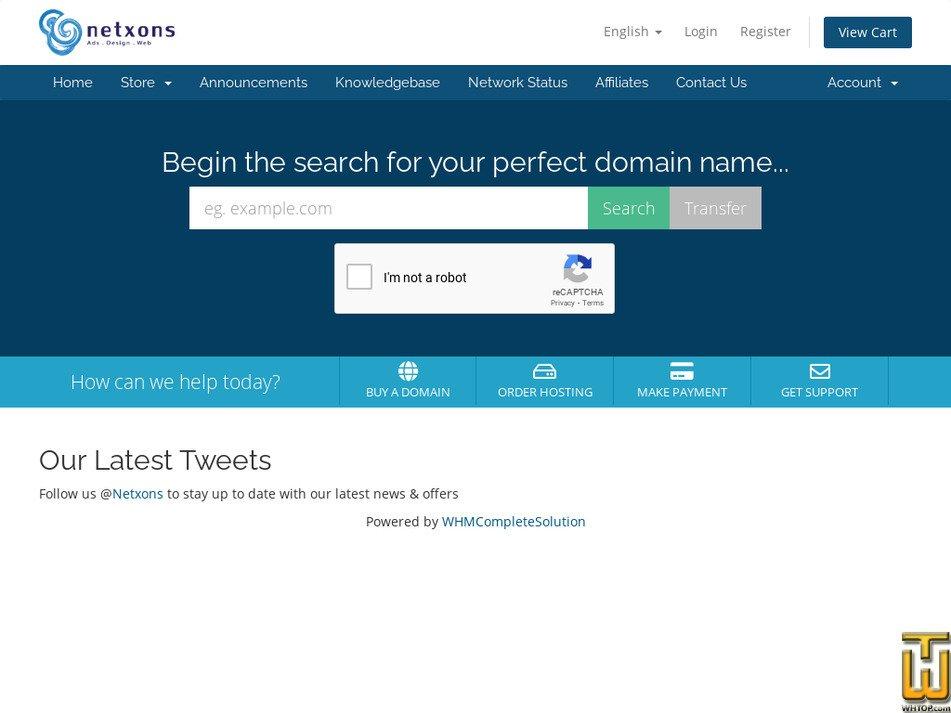 netxons.com Screenshot