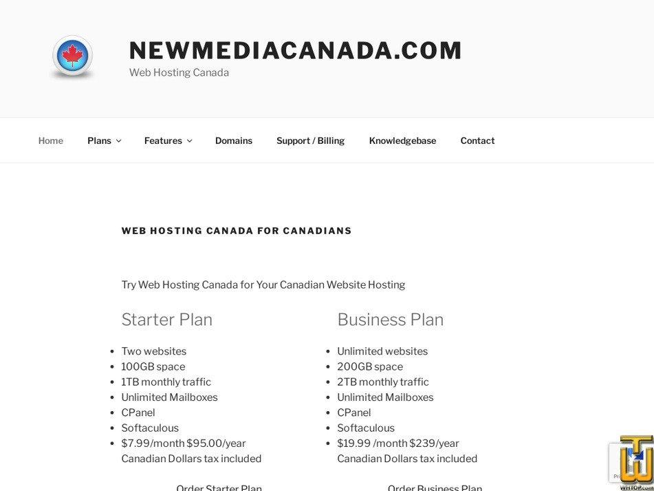 newmediacanada.com Screenshot