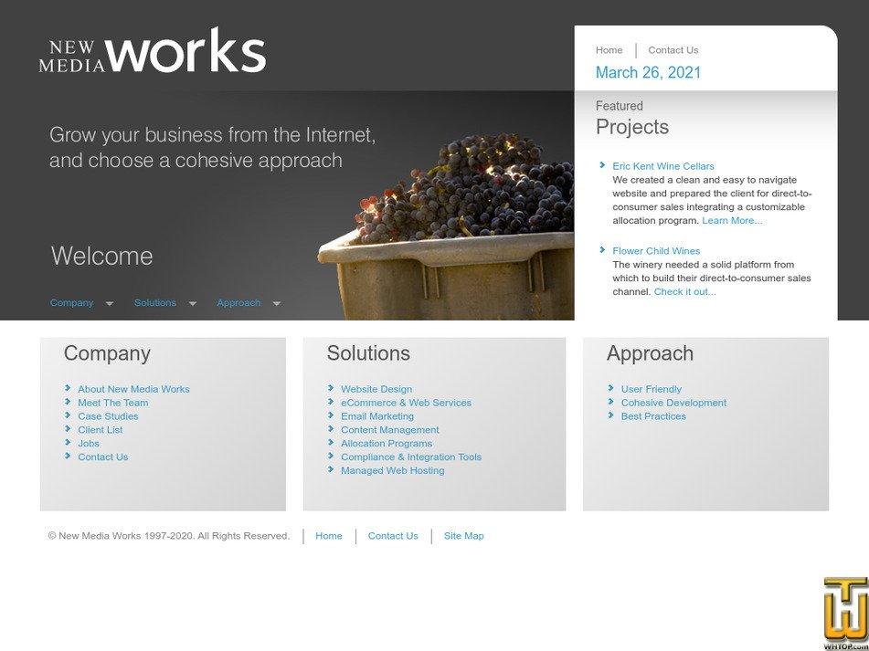 newmediaworks.com Screenshot