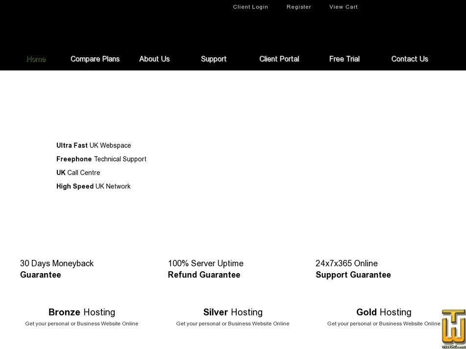 nginx-hosting.co.uk Screenshot