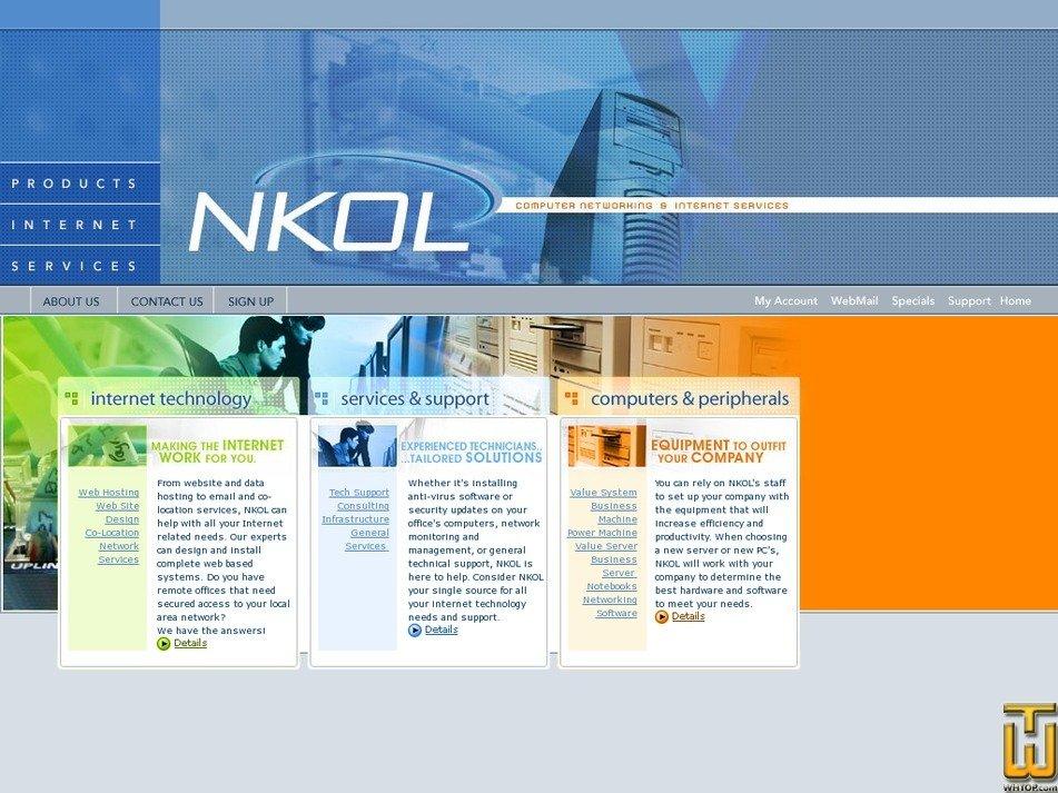 nkol.net Screenshot