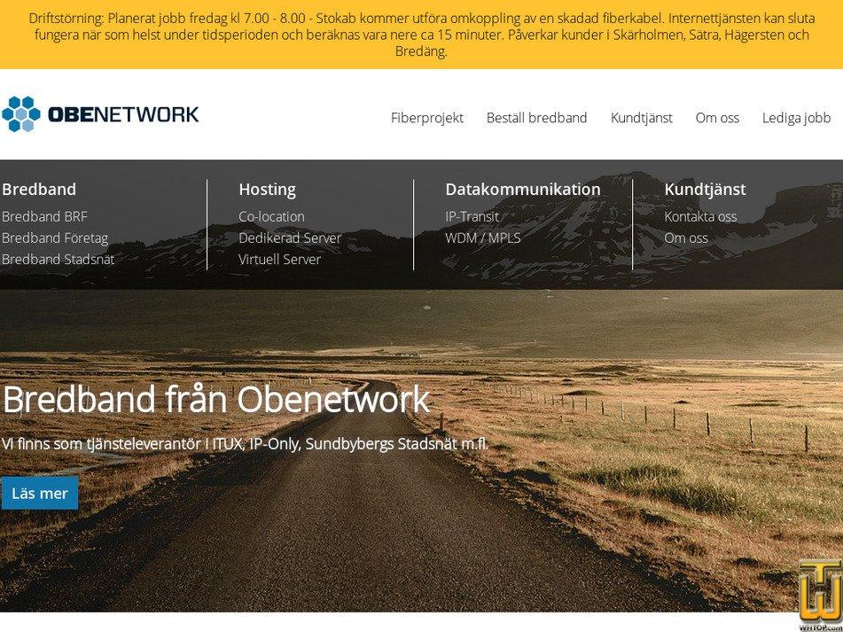 obenetwork.com screenshot