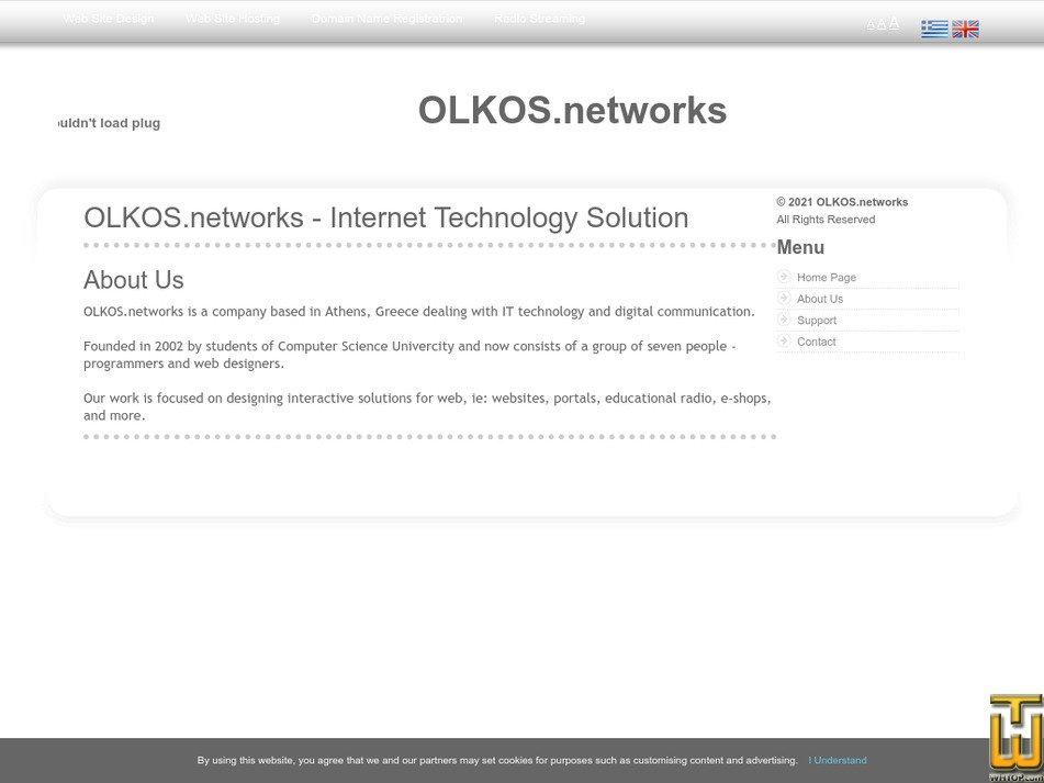 olkos.net Screenshot