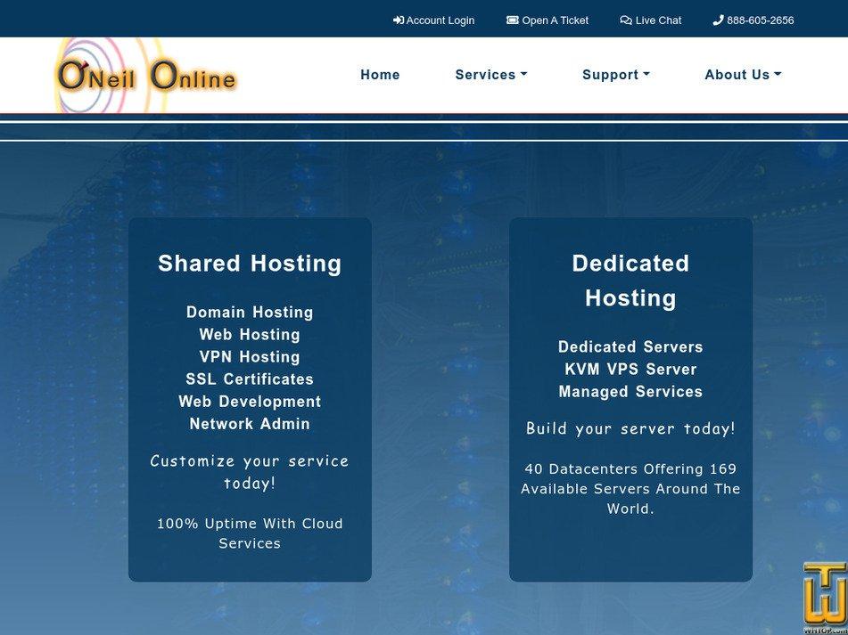 oneilonline.com Screenshot