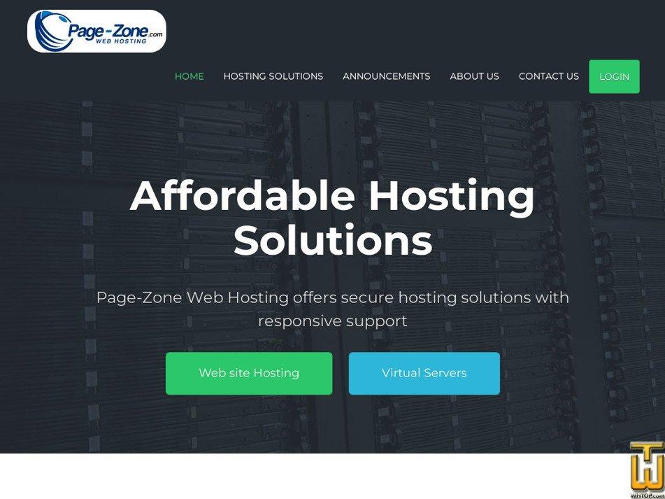 page-zone.com Screenshot