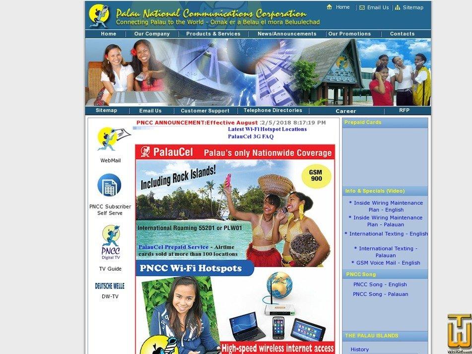 palaunet.com Screenshot