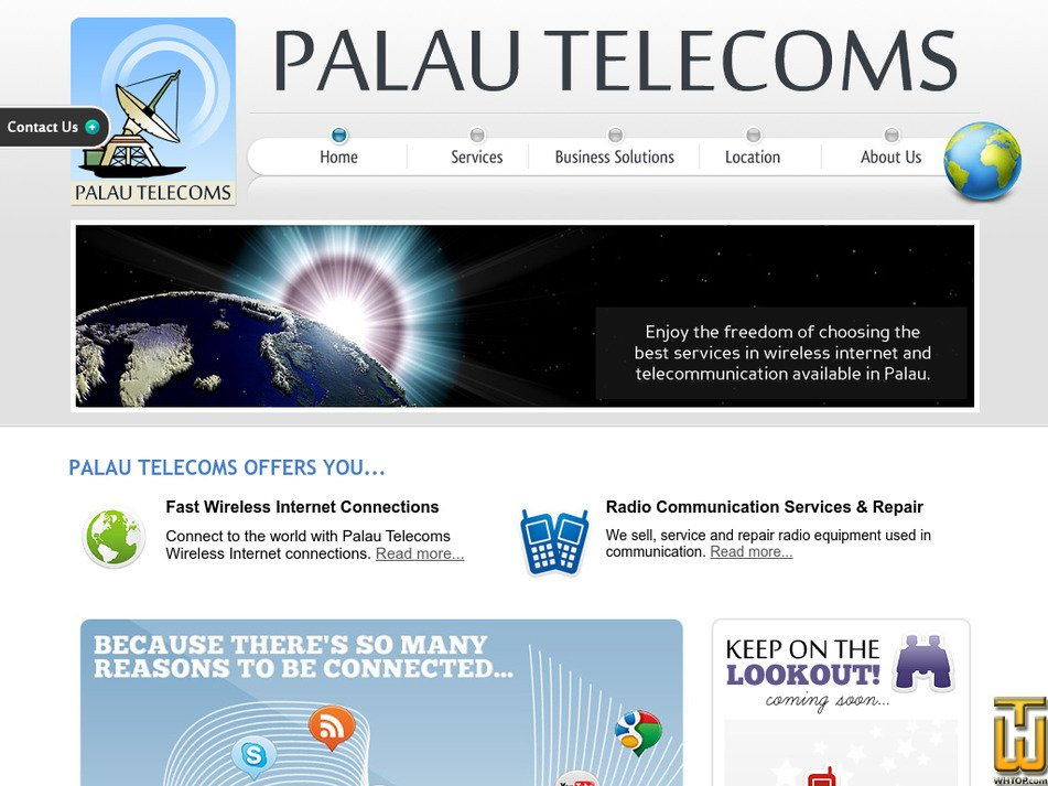 palautelecoms.com Screenshot