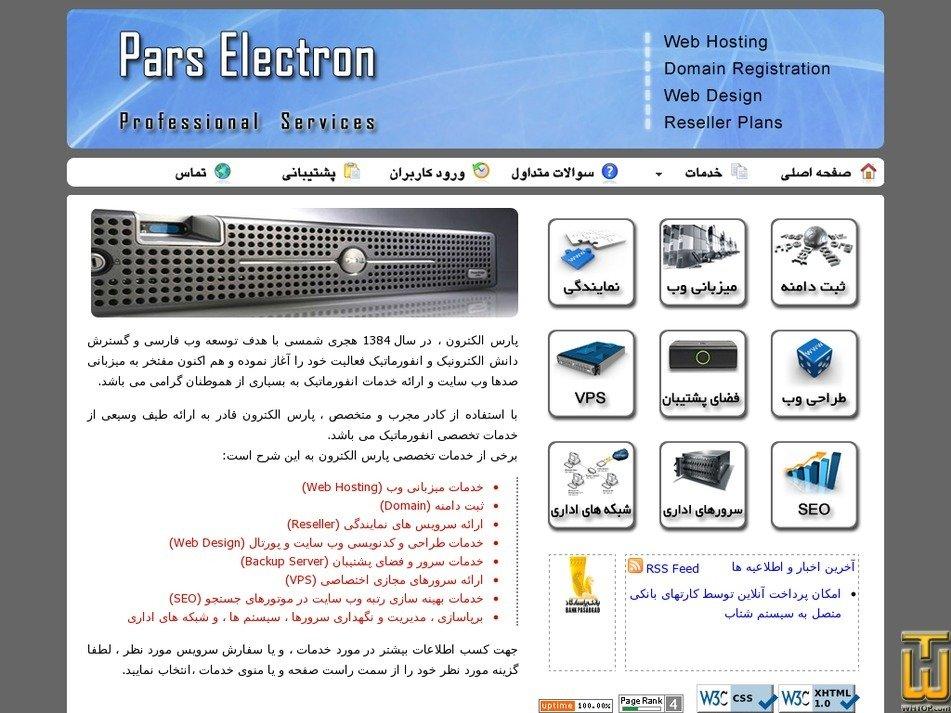 parselectron.com Screenshot