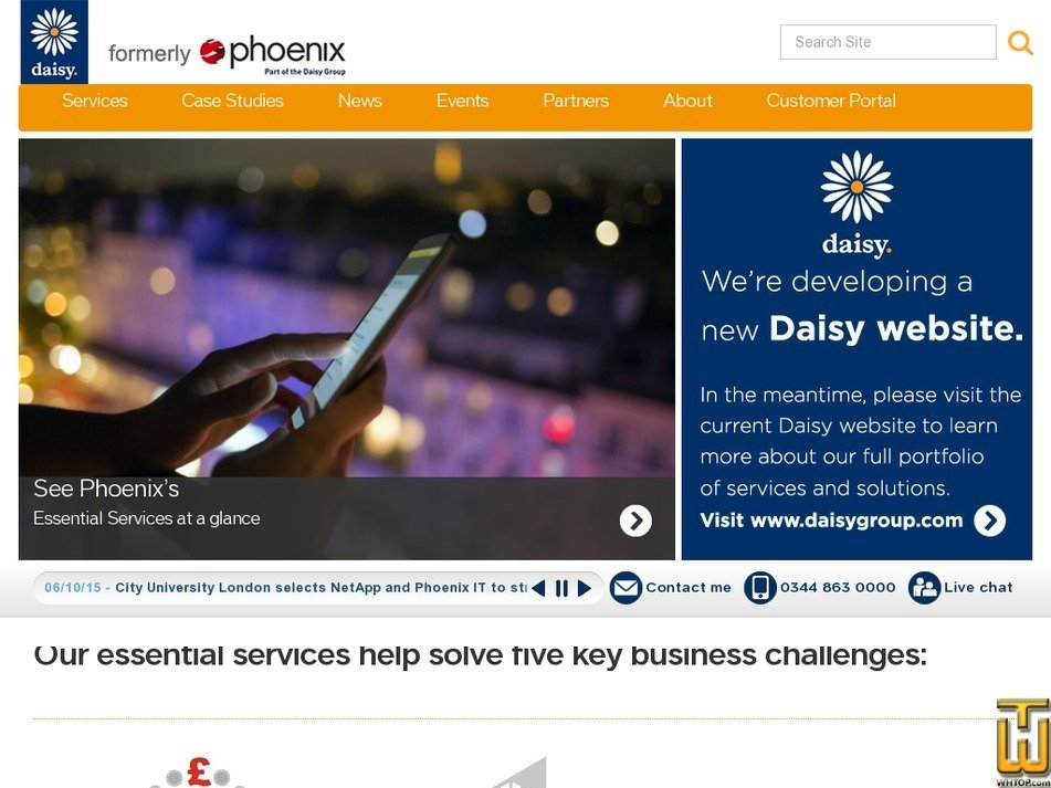 phoenix.co.uk Screenshot