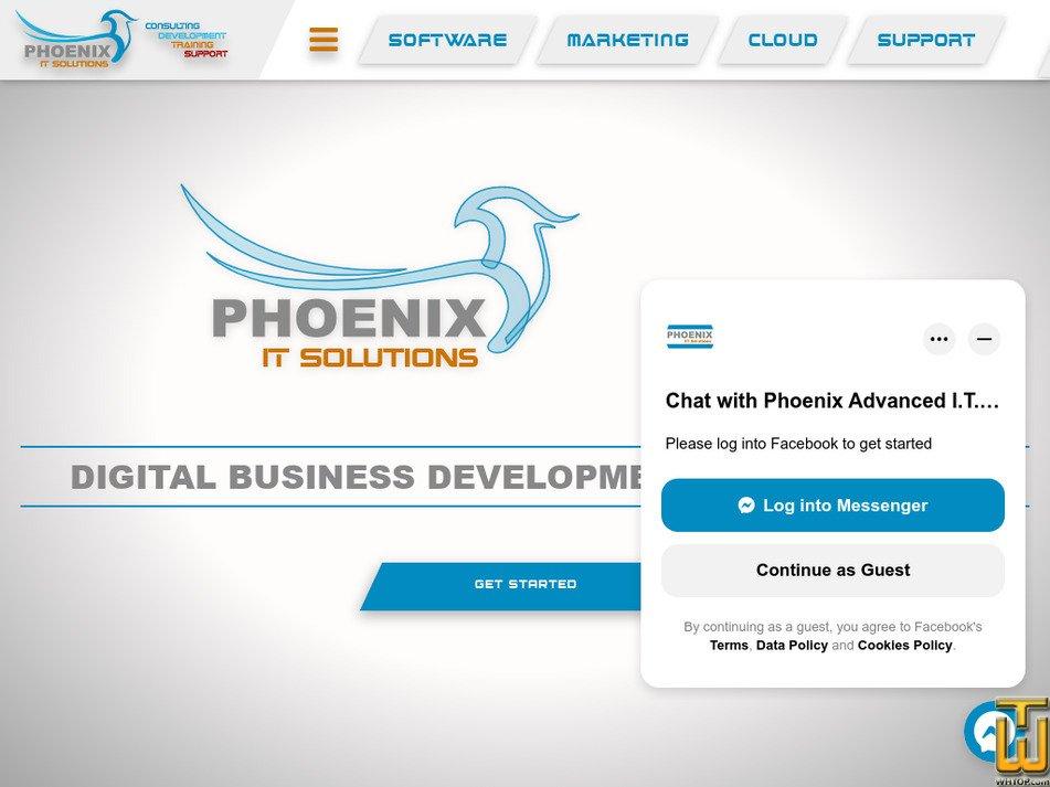 phoenix.com.na screenshot