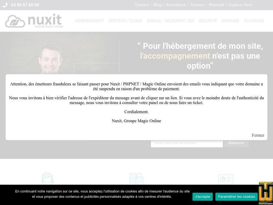 phpnet.org screenshot