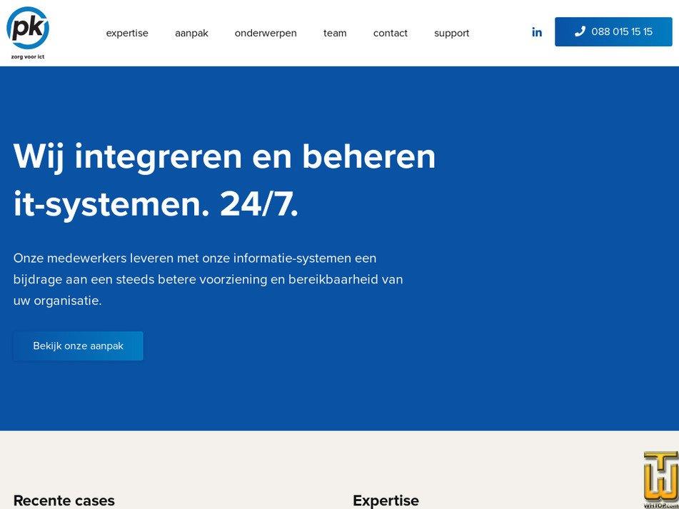 pk.nl Screenshot