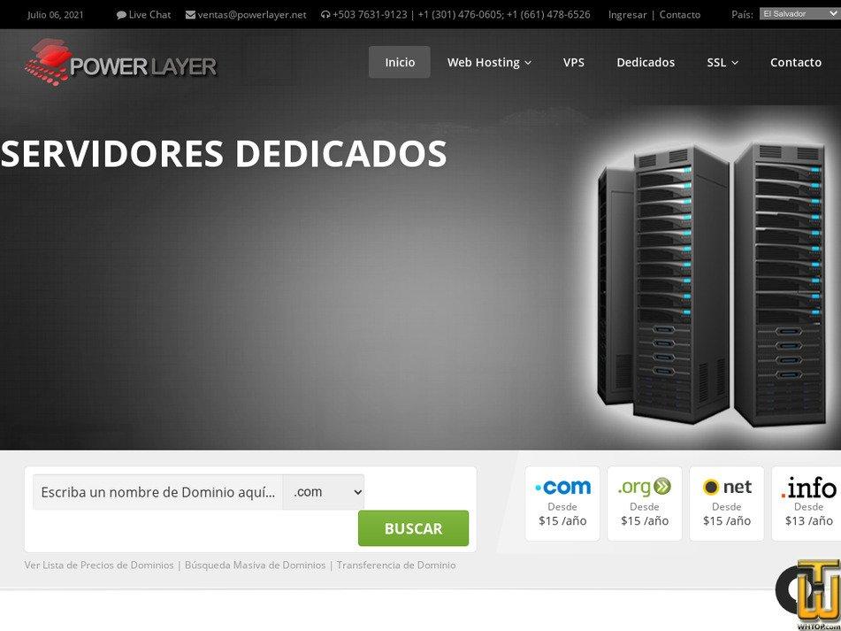 powerlayer.net Screenshot