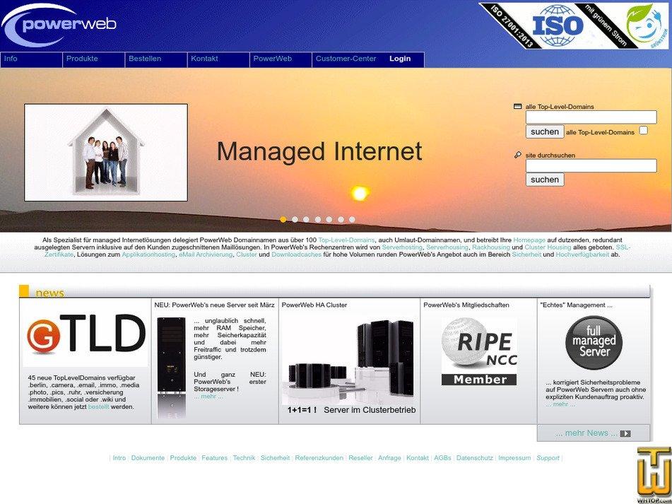 powerweb.de Screenshot