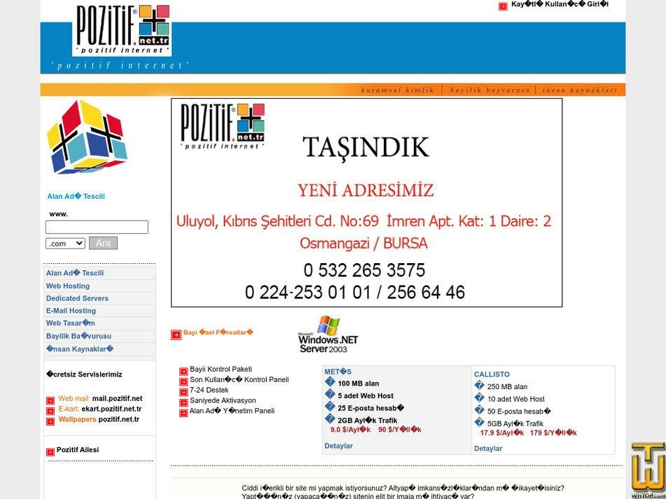 pozitif.net.tr Screenshot