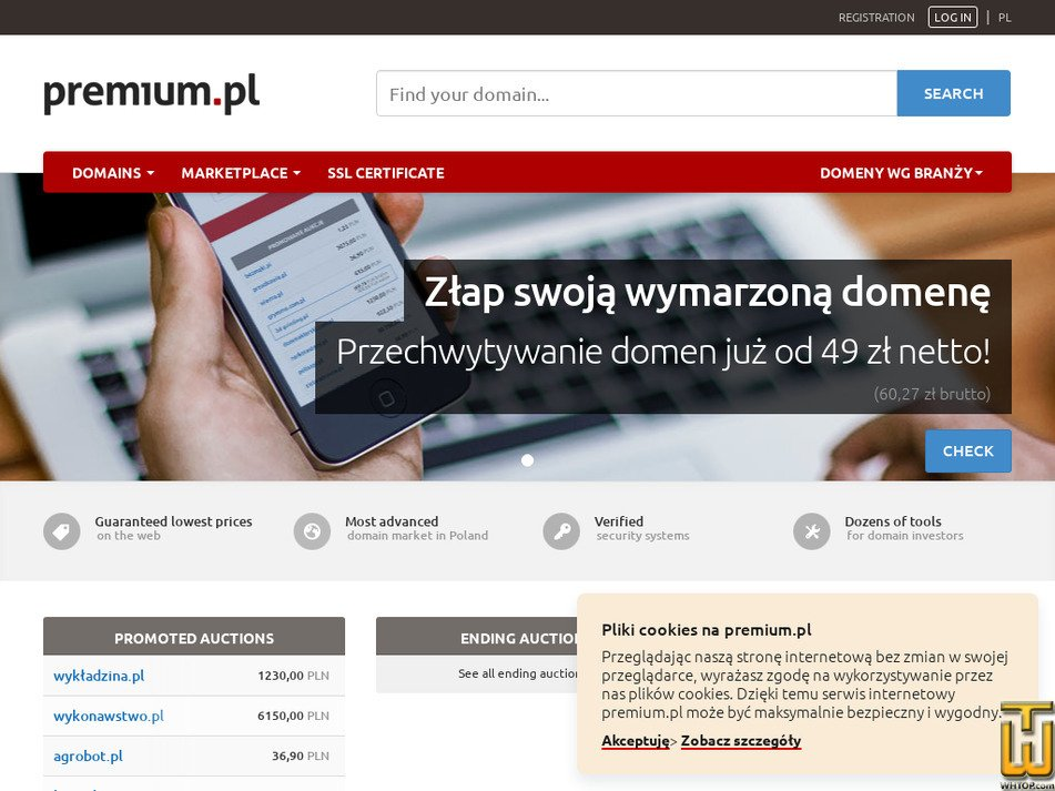 premium.pl Screenshot