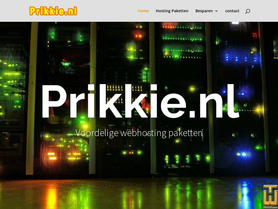 prikkie.nl Screenshot