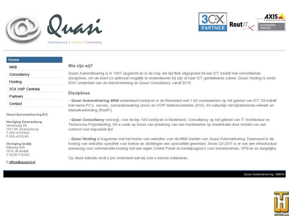quasict.nl Screenshot