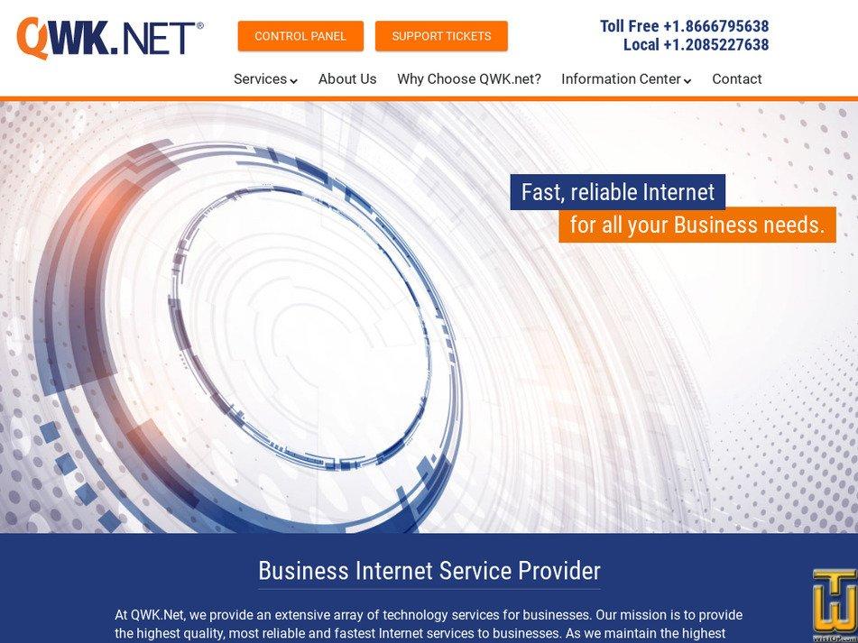 qwk.net screenshot