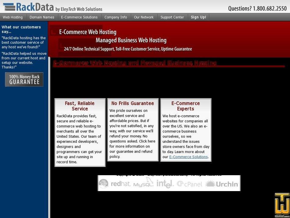 rackdata.com Screenshot