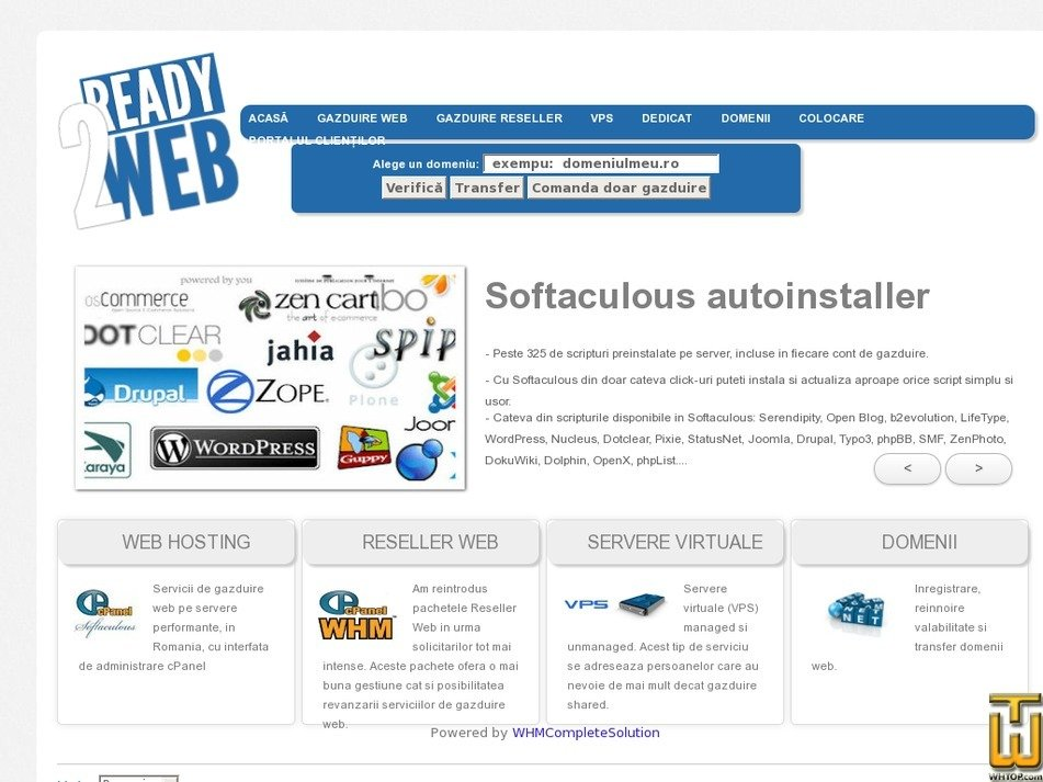 ready2web.ro Screenshot