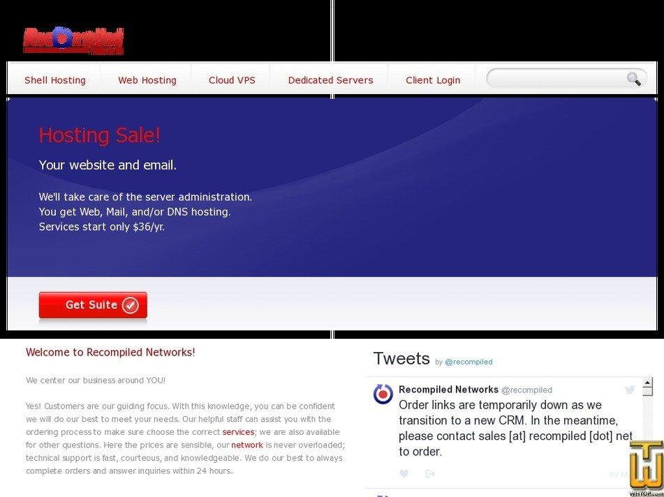 recompiled.net Screenshot