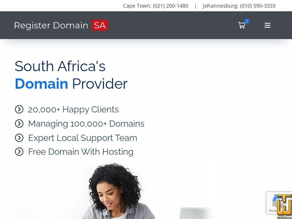 registerdomain.co.za Screenshot