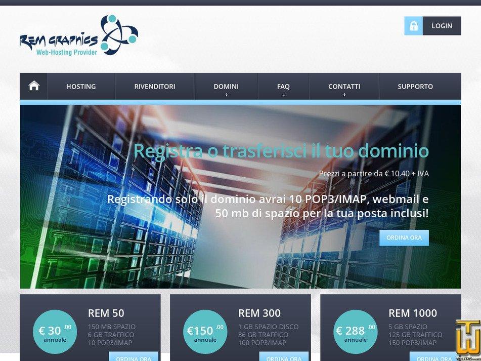 rem-graphics.it Screenshot