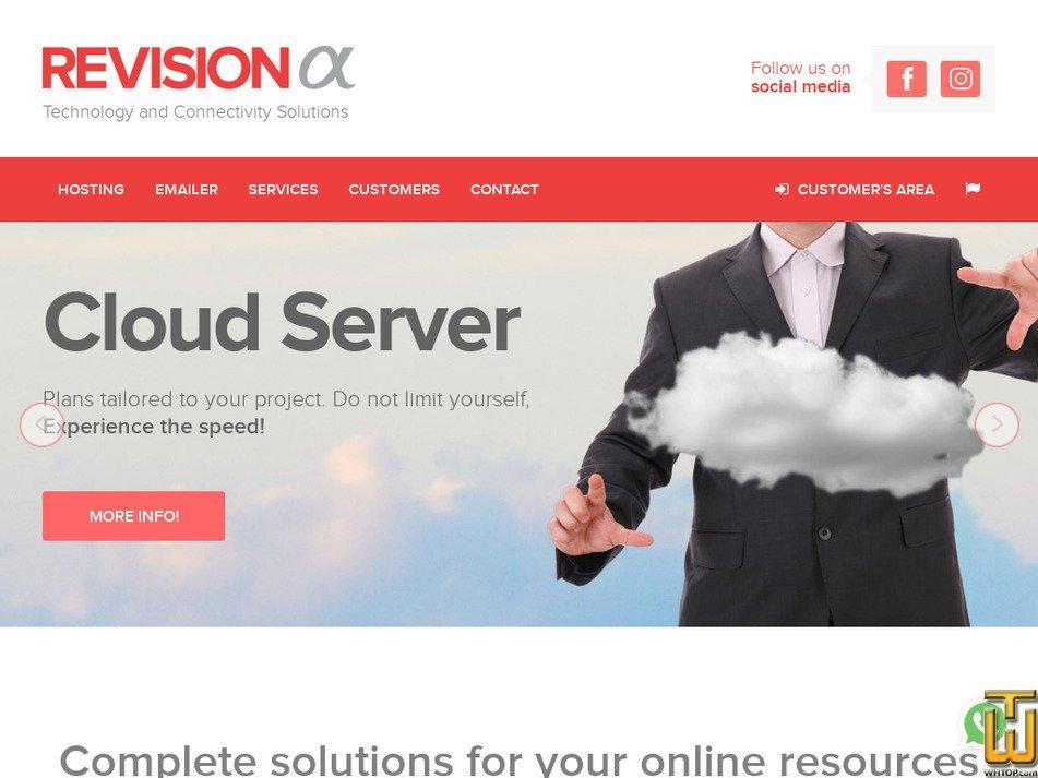 revisionalpha.com screenshot
