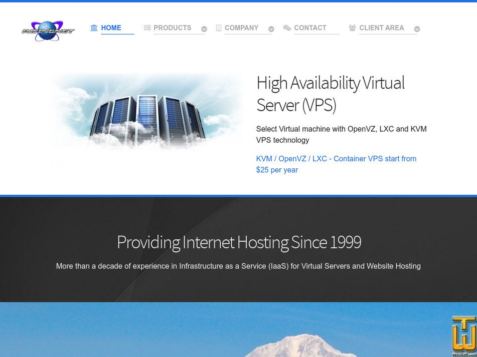 risingnet.com Screenshot