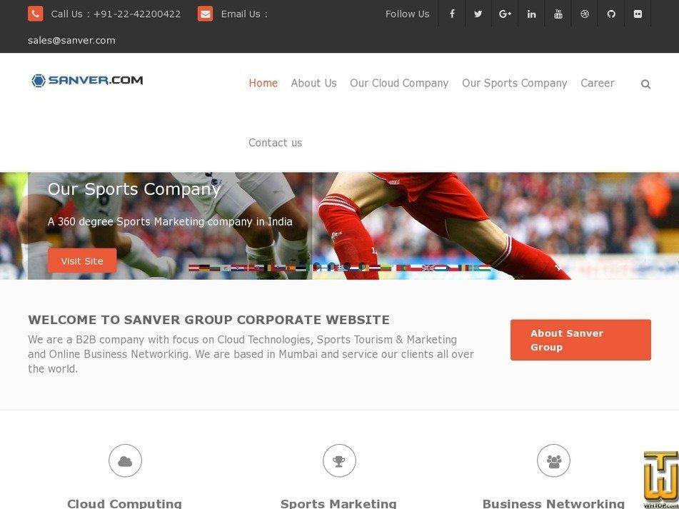 sanver.com Screenshot