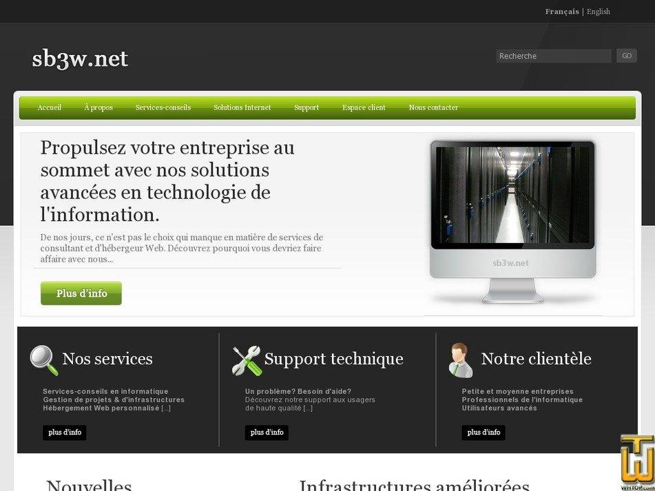 sb3w.net Screenshot