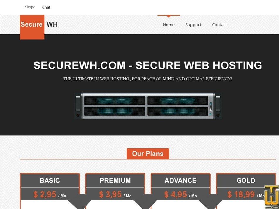 securewh.com Screenshot