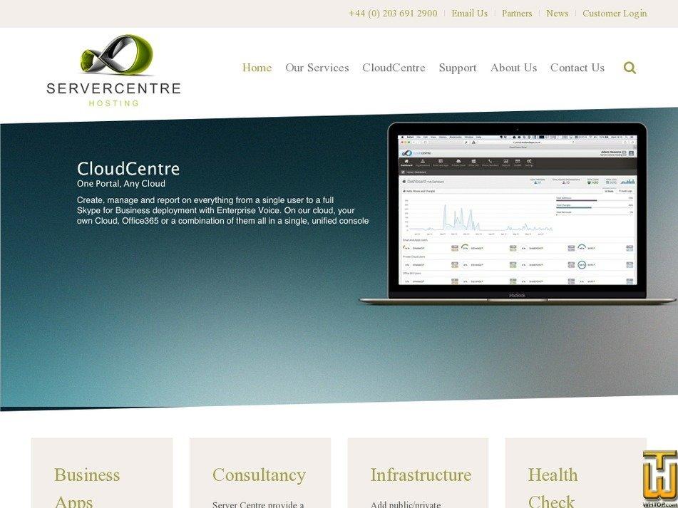 servercentre.net Screenshot
