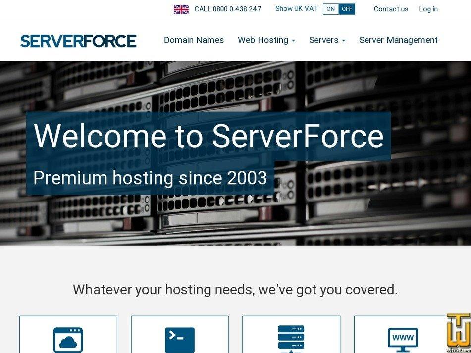serverforce.net Screenshot