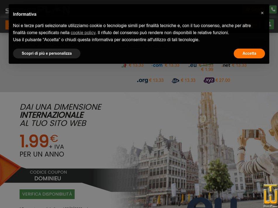 serverplan.com Screenshot