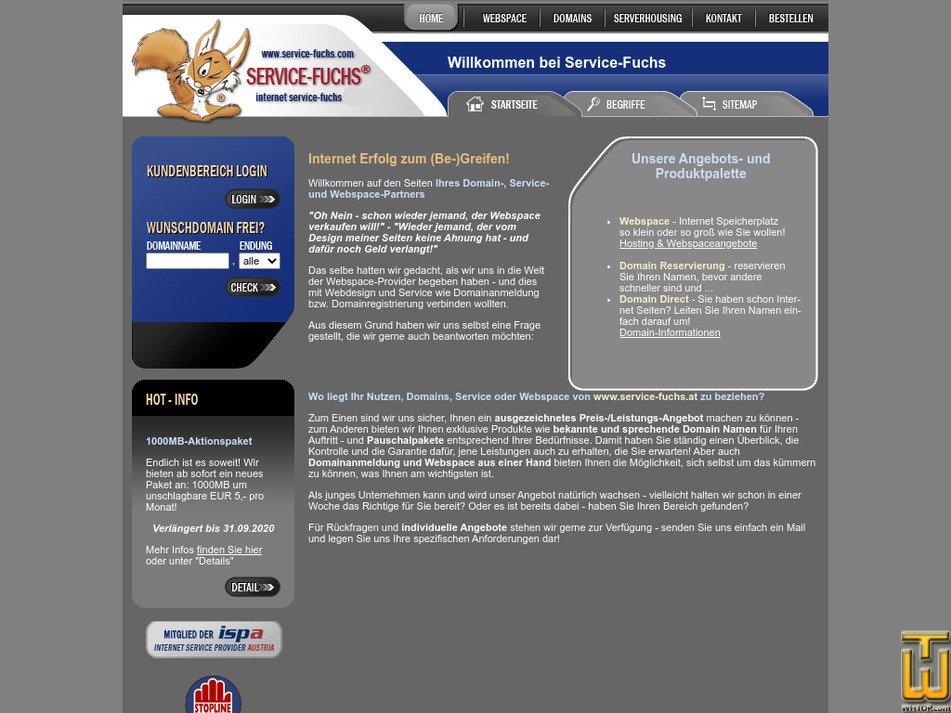 service-fuchs.com Screenshot