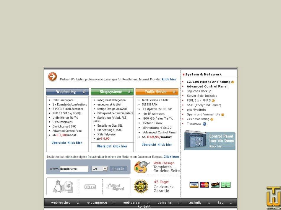 shopisp.at Screenshot