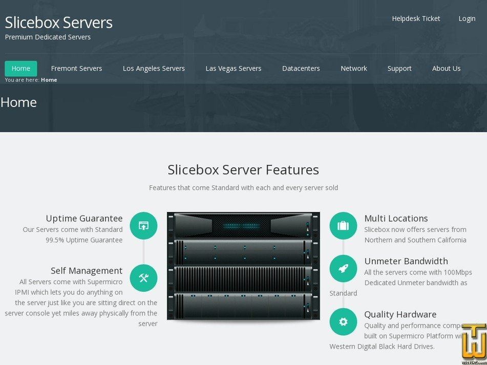 slicebox.net Screenshot