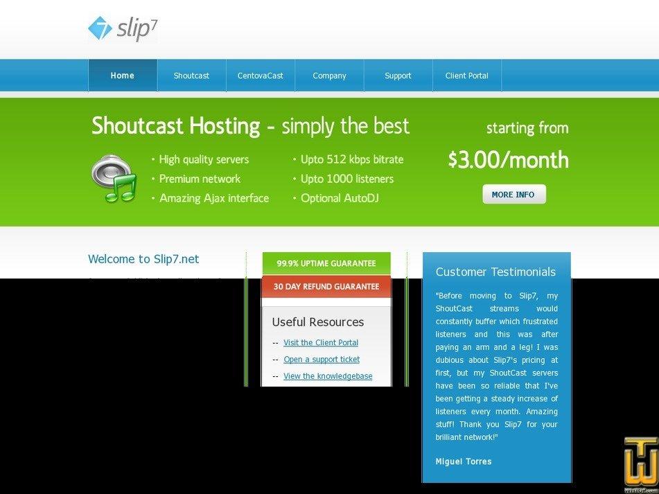 slip7.net Screenshot