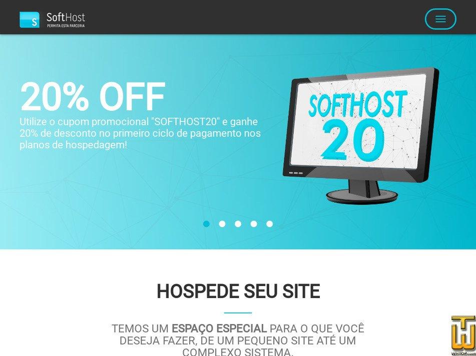 softhost.com.br Screenshot