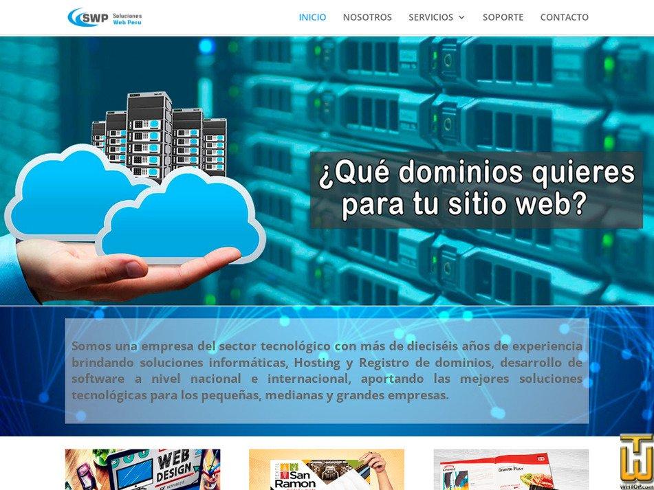 solucioneswebperu.com Screenshot