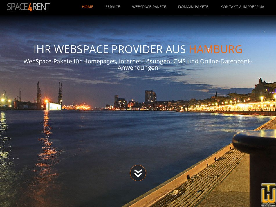 space4rent.de Screenshot