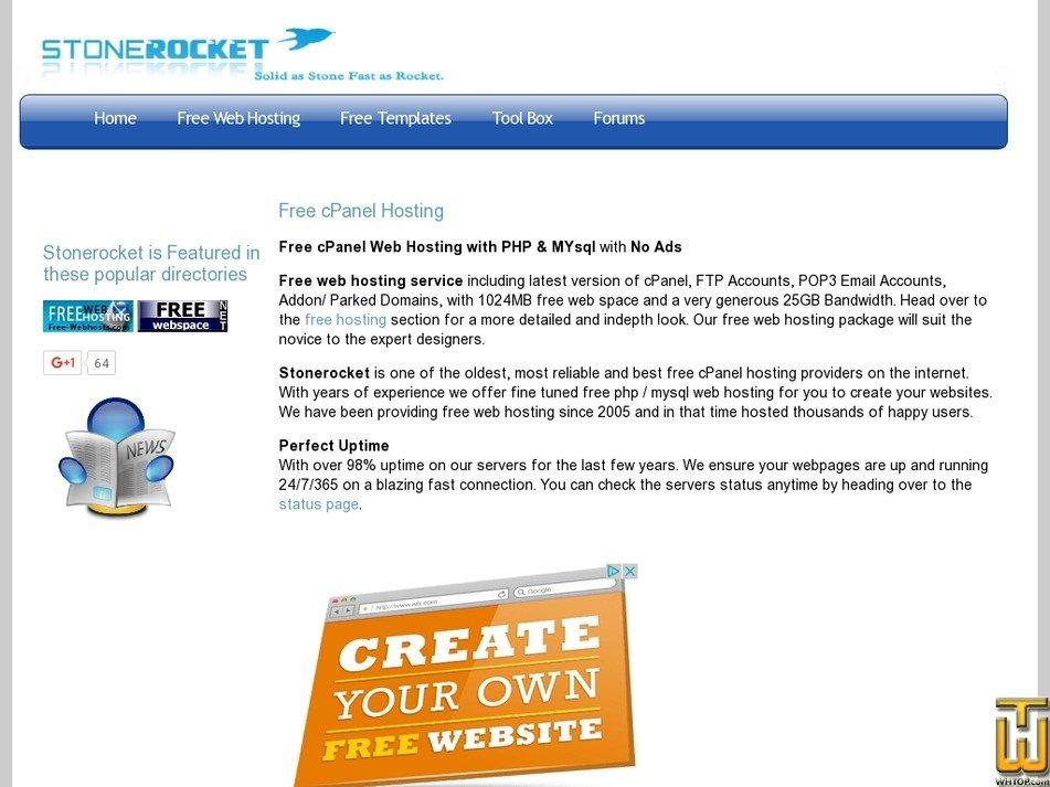 stonerocket.net Screenshot