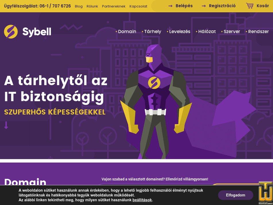 sybell.hu screenshot