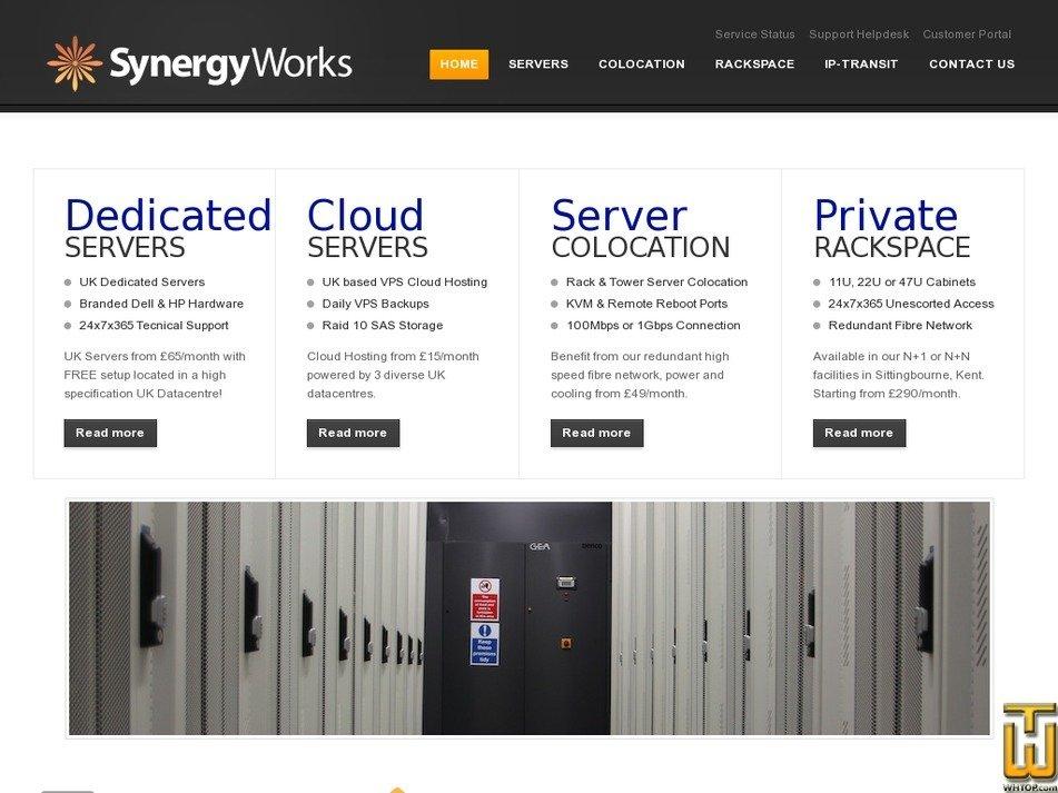 synergyworks.co.uk Screenshot