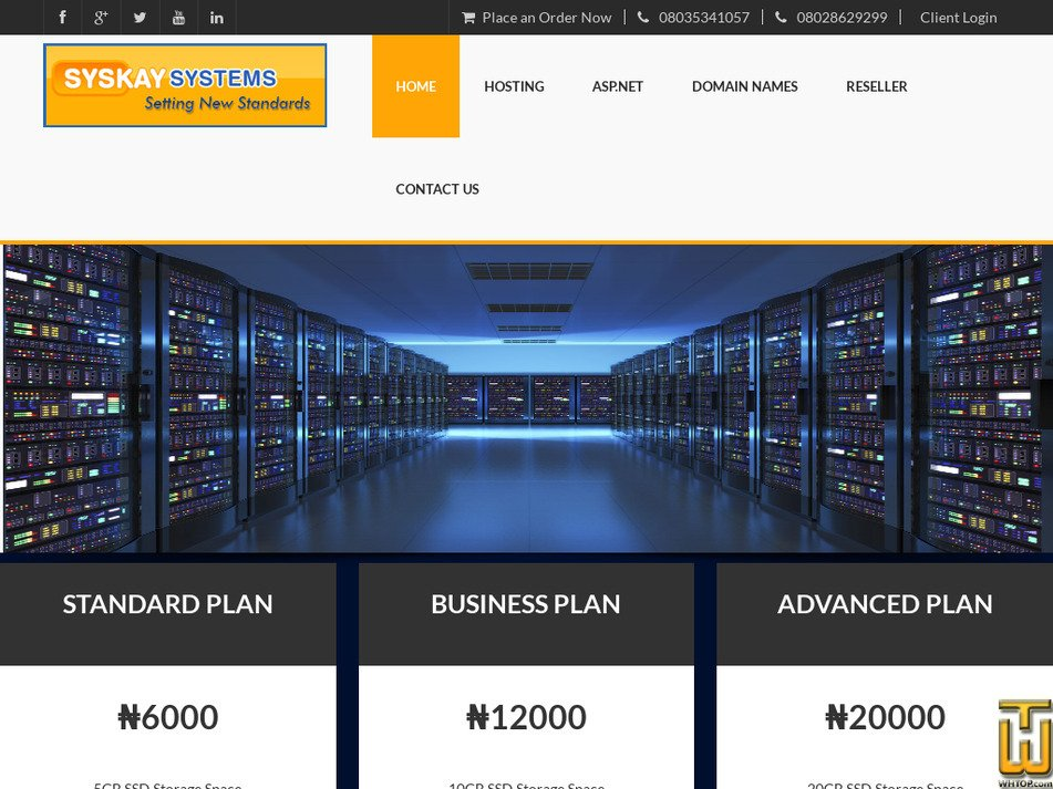syskay.com Screenshot