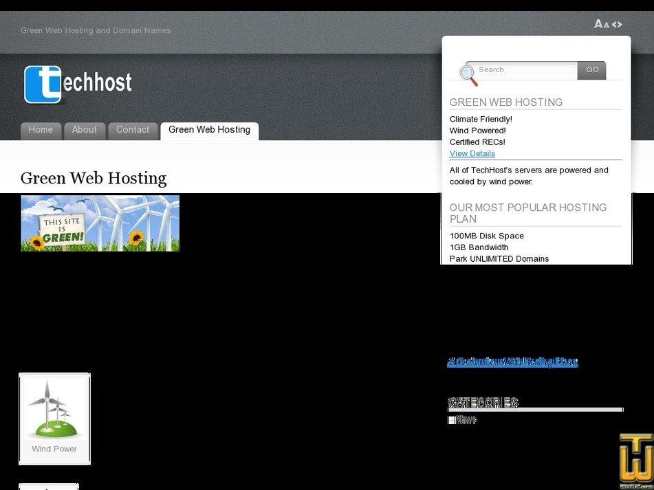 techhost.biz Screenshot